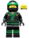 Minifig No: coltlnm03  Name: Lloyd with Ninja Hood - Minifigure Only Entry, no stand, no accessories