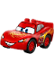Minifig No: crs021  Name: Duplo Lightning McQueen (2017 version)