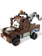 Minifig No: crs067  Name: Tow Mater - Eyes Looking Straight