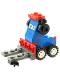 Minifig No: crs071  Name: Forklift - Raoul ÇaRoul's Pit Crew