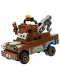 Minifig No: crs079  Name: Tow Mater - Eyes Looking Left