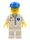 Minifig No: cty0017  Name: Doctor - EMT Star of Life Button Shirt, White Legs, Blue Cap, Silver Sunglasses