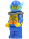 Minifig No: cty0065  Name: Coast Guard City - Diver 2