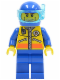 Minifig No: cty0068  Name: Coast Guard City - Diver 1