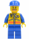 Minifig No: cty0070  Name: Coast Guard City - Patroller 1