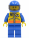 Minifig No: cty0071  Name: Coast Guard City - Helicopter Pilot 1