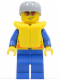 Minifig No: cty0078  Name: Coast Guard City - Speedboat Pilot