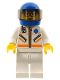 Minifig No: cty0080  Name: Doctor - Jacket with Zipper and EMT Star of Life - White Legs, Blue Helmet, Trans-Black Visor, Glasses and Brown Eyebrows