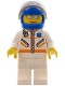 Minifig No: cty0081  Name: Doctor - Jacket with Zipper and EMT Star of Life - White Legs, Blue Helmet, Trans-Black Visor, Silver Sunglasses