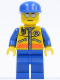 Minifig No: cty0089  Name: Coast Guard City - Patroller 3