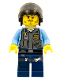 Minifig No: cty0377  Name: Police - LEGO City Undercover Elite Police Officer 6