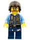 Minifig No: cty0378  Name: Police - LEGO City Undercover Elite Police Officer 7