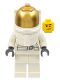 Minifig No: cty0384  Name: Astronaut, White Legs, Underwater Helmet, Visor