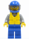 Minifig No: cty0406  Name: Coast Guard City - Rescuer, Helmet