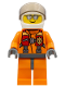 Minifig No: cty0429  Name: Coast Guard City - Pilot