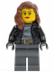 Minifig No: cty0451  Name: Police - City Bandit Female