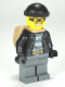 Minifig No: cty0453  Name: Police - City Bandit Male, Black Knit Cap, Backpack, Mask