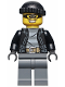 Minifig No: cty0462  Name: Police - City Bandit Male, Black Knit Cap, Mask