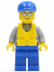 Minifig No: cty0474  Name: Coast Guard City - Rescuer, Cap