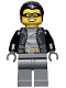 Minifig No: cty0478  Name: Police - City Bandit Male, Black Hair, Mask