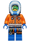 Minifig No: cty0493  Name: Arctic Explorer, Male with Green Goggles