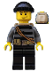 Minifig No: cty0501  Name: Police - City Burglar, Knit Cap and Open Backpack