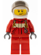 Minifig No: cty0539  Name: Paramedic - Pilot Male, White Helmet
