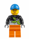 Minifig No: cty0543  Name: Powerboat Driver Female