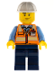 Minifig No: cty0557  Name: Space Engineer