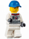 Minifig No: cty0562  Name: Astronaut with Cap