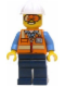 Minifig No: cty0600  Name: Space Engineer with Goggles