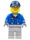 Minifig No: cty0604  Name: Deep Sea Seaplane Pilot