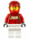 Minifig No: cty0607  Name: Paramedic - Pilot Female, Red Helmet