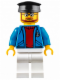 Minifig No: cty0622  Name: Ferry Captain