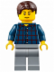 Minifig No: cty0625  Name: Camper - Male