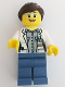Minifig No: cty0680  Name: Volcano Explorer - Female Scientist