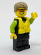 Minifig No: cty0757  Name: Beachgoer - Kayaker