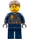 Minifig No: cty0780  Name: Police - City Chase McCain - Dark Blue Uniform