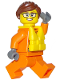 Minifig No: cty0812  Name: Coast Guard City - Female Raft Pilot