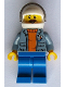 Minifig No: cty0828  Name: Coast Guard City - Helicopter Pilot with Moustache