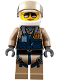 Minifig No: cty0832  Name: Mountain Police - Officer Female, Pilot with Helmet and Visor