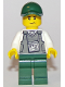 Minifig No: cty0836  Name: Mountain Police - Armored Truck Driver