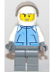 Minifig No: cty0839  Name: Helicopter Pilot - Medium Blue Jacket