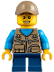 Minifig No: cty0845  Name: Camper, Boy Child