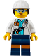Minifig No: cty0848  Name: Miner - Female Scientist