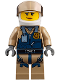 Minifig No: cty0852  Name: Mountain Police - Officer Female, Helicopter Pilot