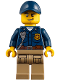 Minifig No: cty0855  Name: Mountain Police - Officer Male