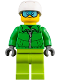 Minifig No: cty0857  Name: Skier