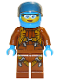 Minifig No: cty0924  Name: Arctic Plane / Quadcopter Pilot Female