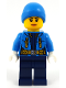 Minifig No: cty0931  Name: Arctic Explorer Female - Ski Beanie Hat